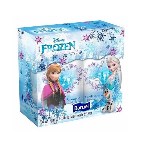 Kit Shampoo + Condicionador Princesas Frozen 230ml