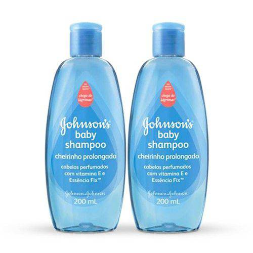 Kit Shampoo Johnsons Baby Cheirinho Prolongado