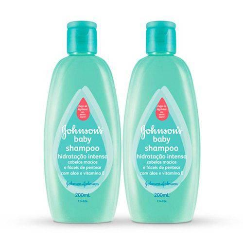 Kit Shampoo Johnsons Baby Hidratação Intensa