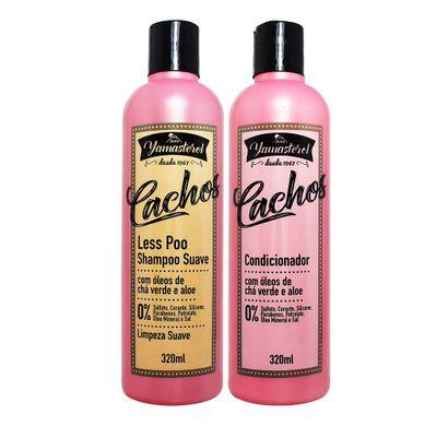 Kit Shampoo Less Poo Condicionador Yamasterol Cachos 320ml - Yamá