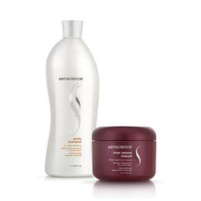 Kit Shampoo Purify For Deep Cleasing 1L + Máscara Repair Inner Restore Intensif 150ml
