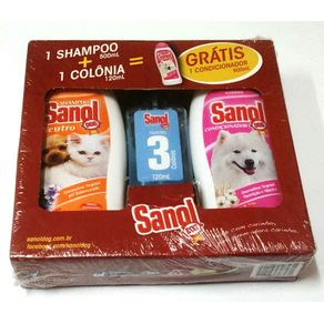 Kit Shampoo Sanol Dog 500 Ml