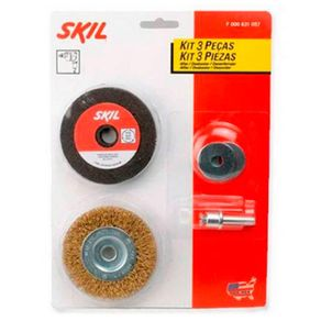 Kit Skil 3Pçs F000631057 Skil