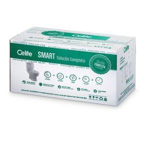 Kit Smart Bacia C/ Caixa Completo Branco Celite