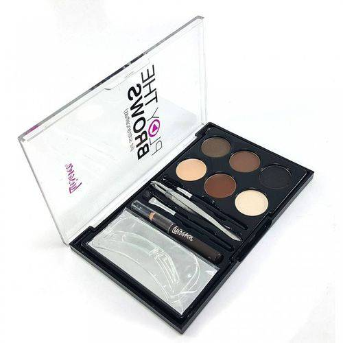 Kit Sobrancelhas Play The Brows L1020 - Luisance