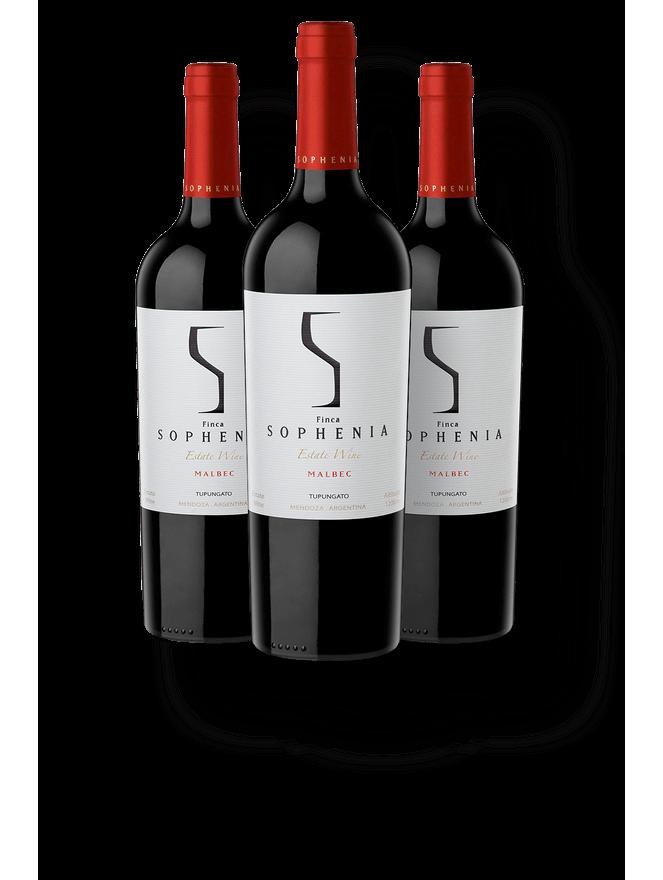 Kit 3 Sophenia Estate Wine Malbec