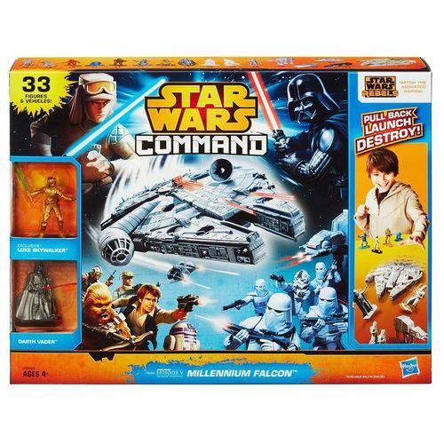Kit Star Wars Command Millennium Falcon Hasbro