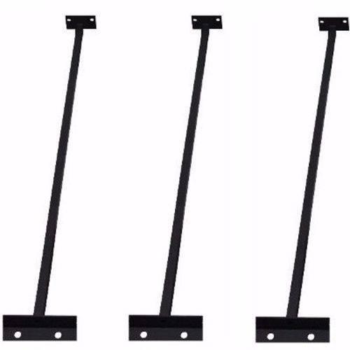 Kit 3 Suportes Refletor Exterior Led ou Comum Outdoor 60cm