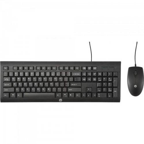 Kit Teclado + Mouse C2500 Preto Hp