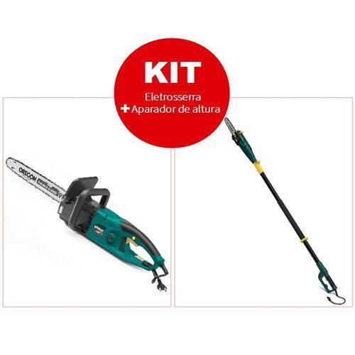 Kit Tekna Eletrosserra 45cm 2200W + Aparador de Altura 20cm 750W 220V