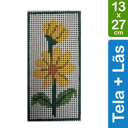 Kit Tela para Bordar 13x27 - 3307 Crisantemo