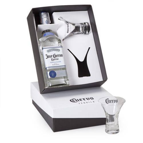 Kit Tequila Jose Cuervo Especial 750ml + 2 Copos Marguerita