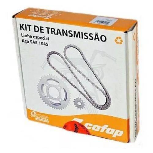 Kit Transmissao Reçaçao Biz 100 em Aço 1045 Cofap Ref. 410002