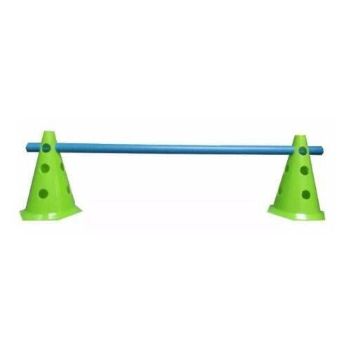 Kit Treinamento 3 Níveis, 2 Cones 24 Cm + Tubo Futebol