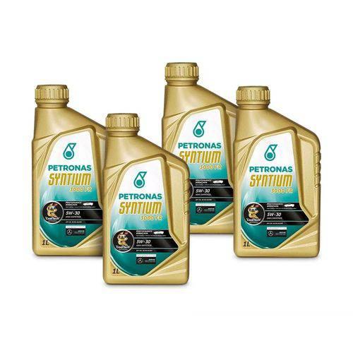 Kit Troca de Óleo Syntium 3000xs Sintetico 5w30 Api Sn Petronas
