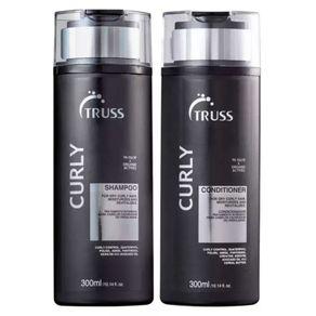 Kit Truss Curly (Shampoo e Condicionador) Conjunto