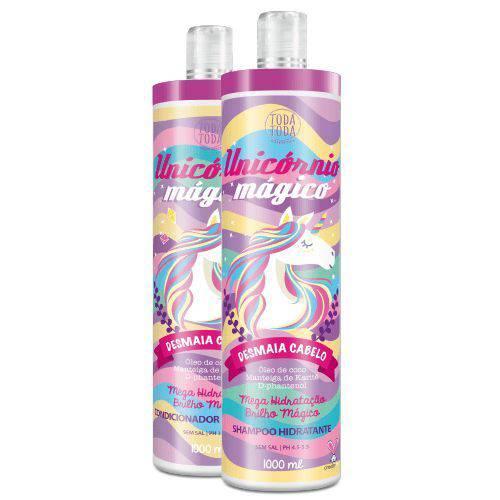 Kit Unicórnio Mágico - Shampoo e Condicionador 1000ml