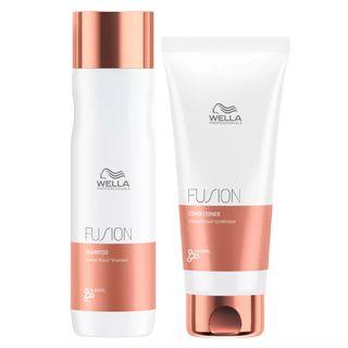 Kit Wella Professionals Fusion - Shampoo + Condicionador Kit