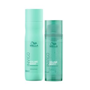 Kit Wella Professionals Invigo Volume Boost - Shampoo + Máscara
