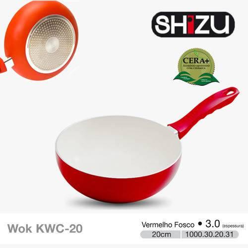 Wok 3.0 - 20cm - Ceramica Vermelha Shizu