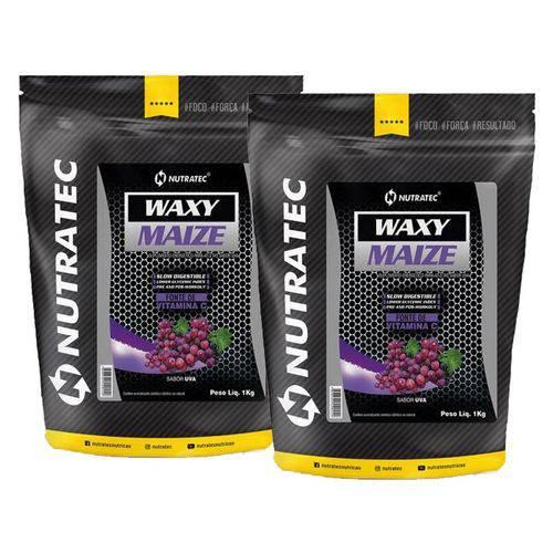 Kit 2x Waxy Maize 1kg Nutratec