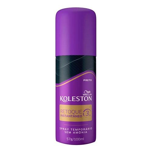 Koleston Retoque Instantâneo Preto Spray 100ml