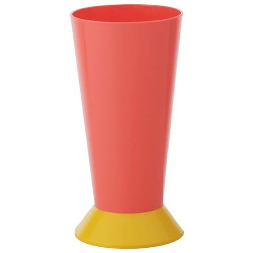 Kolorê Copo Long Drink 400 Ml Flamingo/banana