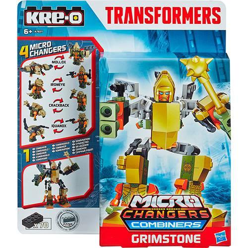Kre-O Tra Kreon Micro Changer Combiners Grimstone - Hasbro