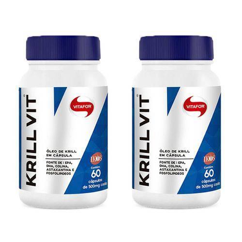 Krill Vit - 2 Un de 60 Cápsulas - Vitafor