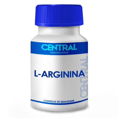 L-arginina 500mg \ 120 Cápsulas
