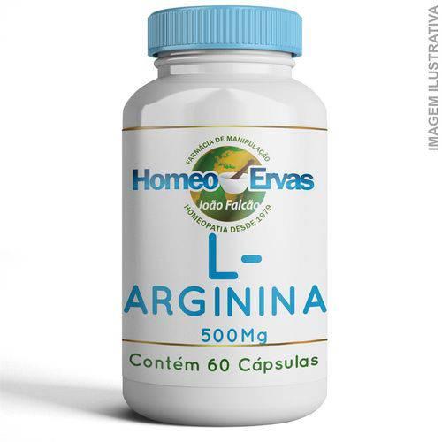 L-arginina 500mg 60 Cápsulas