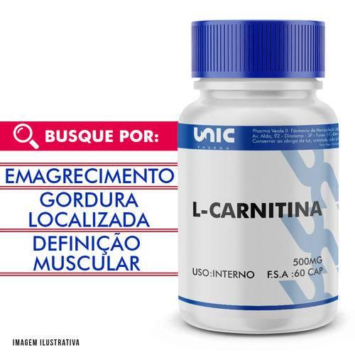L-carnitina 500mg 60 Doses