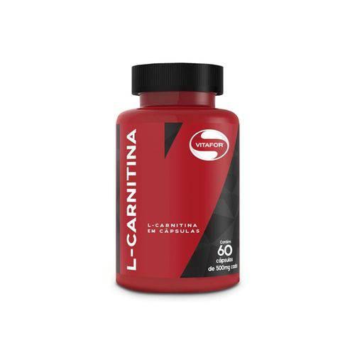 L-Carnitina 60 Cápsulas - Vitafor
