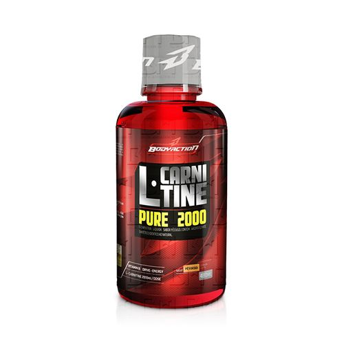 L-Carnitina Liquid 480ml - Body Action L-Carnitina Liquid 480ml Limão - Body Action
