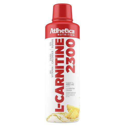L-carnitine 2300 480 Ml - Atlhetica Nutrition - Abacaxi