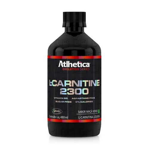L-Carnitine 2300 480ml - Atlhetica Nutrition L-Carnitine 2300 480ml Abacaxi - Atlhetica Nutrition