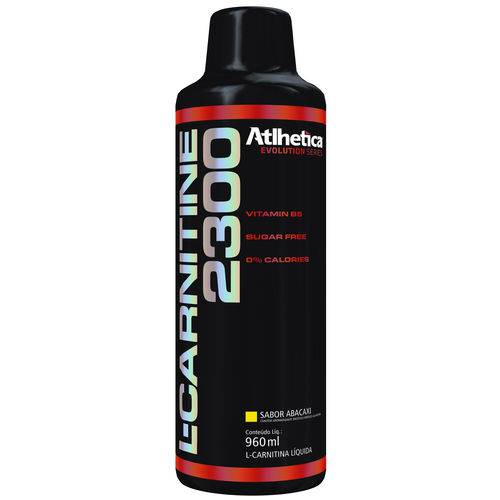 L-carnitine 2300 - 960ml - Abacaxi - Atlhetica Nutrition