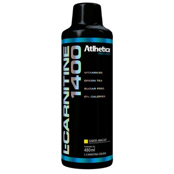 L-Carnitine 1400 Abacaxi 480ml Pro Series - Atlhetíca Nutrition