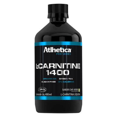 L-carnitine 1400 Pro Series Atlhetica (480 Ml) – Chá Verde