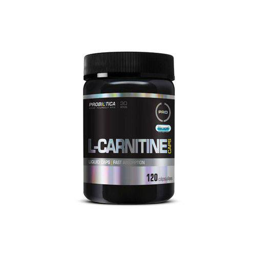 L-Carnitine Caps 120 Cápsulas