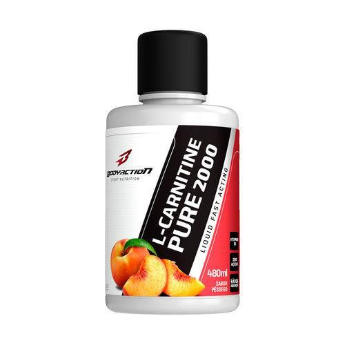 L-Carnitine Pure 2.000 480ml Pêssego BODYACTION