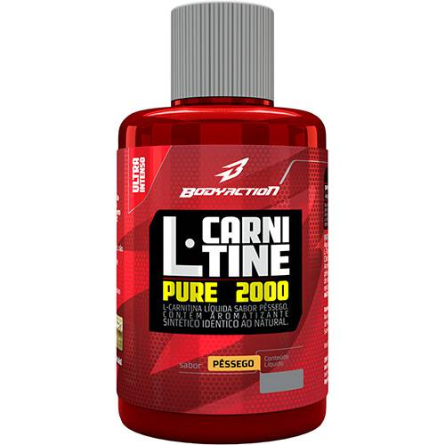 L-carnitine Pure 2.000 Pêssego Body Action - 480ml
