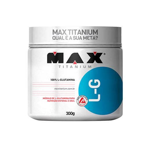 L-G Glutamina 300g Max Titanium