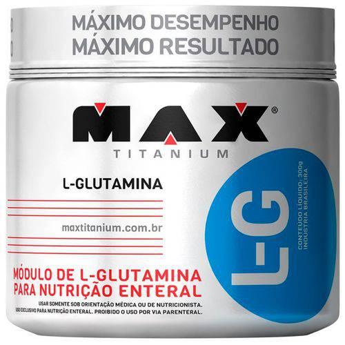 L-G Glutamina 600g - Max Titanium