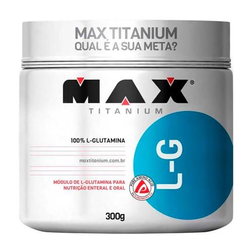L-G Glutamina Max Titanium com 300g