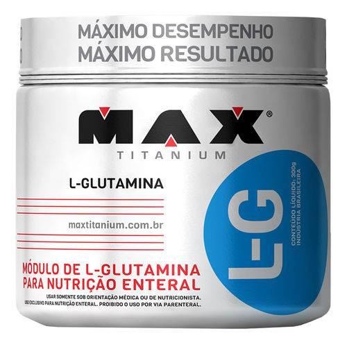 L Glutamina 300g Max Titanium