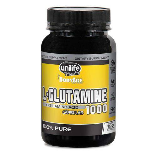 L-Glutamina 120 Cápsulas