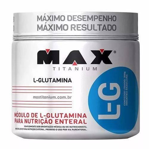 L Glutamina 150g Max Titanium