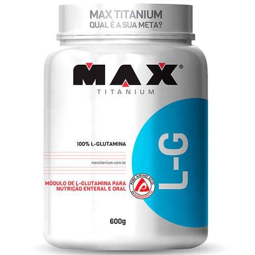 L-glutamina (600g) - Max Titanium