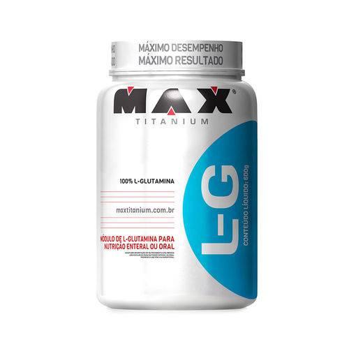 L-glutamina (600g) Max Titanium